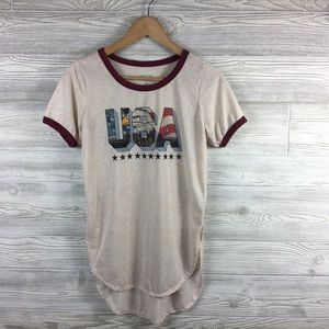 Freeze | USA Graphic Burnout Short Sleeve Tee